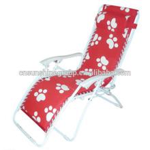 Plegable de salón relajarse silla con función reclinable, silla al aire libre