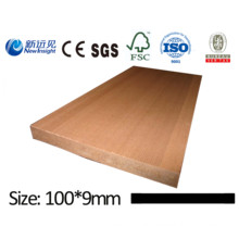 High Quality WPC Plank WPC Board for Bench Dustbin Fence Decking with SGS ISO CE WPC Wall Panel Cladding Decorative Board Wood Plastic Composite Plank Lhma067
