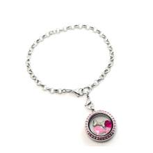 Fantaisie belle chaîne en cristal cool bracelet, nouveau pendentif pendentif 316l bracelet