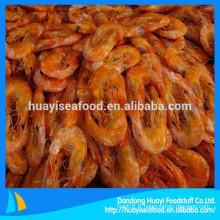 Forte demande dans le marché d'outre-mer pour les crevettes séchées congelées