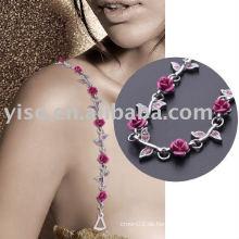Hübscher Blumenart und weisebüstenhalterbügel