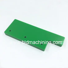 Easy Milling Machining Green Plastic Plate Material