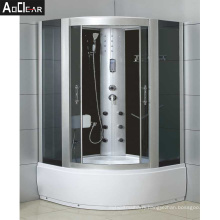 Aokeliya classic multi-function long shower cubicle arc-shaped durable freestanding shower rooms for bathroom