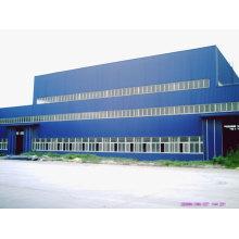 High Standard Space Grid Prefab Steel Structure Frame Workshop
