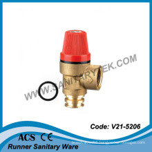Brass Safety Relief Valve (V21-5206)