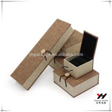 Boîte à bijoux personnalisée d'emballage professionnel