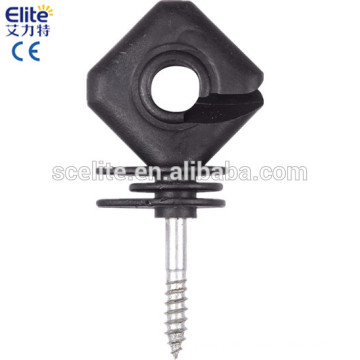 wood post screw-in Insulators for fence energizer