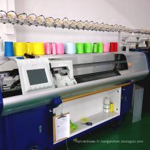 Chine célèbre marque nouvelle condition automatique pull informatisé système unique machine à tricoter rectiligne