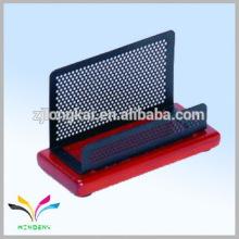 China proveedor propio escritorio de la fábrica namecard madera artesanía titular de la pluma