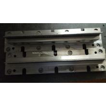 Lame intégrée du moule d'outillage d'aileron de radiateur
