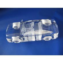 Molde de carro do laser interno de cristal emulational na moda