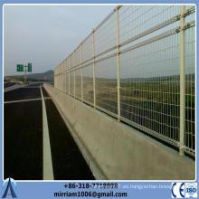 (ISO9001) Hecho en China 868 precio competitivo decorativo barrera barata del jardín del alambre doble