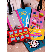 2016 Popular Soft PVC Luggage Tags with Factory Price