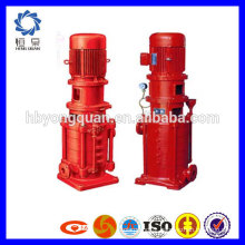 High efficiency centrifugal fire vertical multistage pump