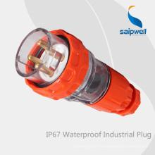 SAIP Высокое качество IP66 3 плоский контактный штекер 250В 20А (56P320)