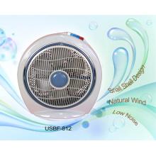 14 pouces escargot coquille Design Box Fan (USBF-812)
