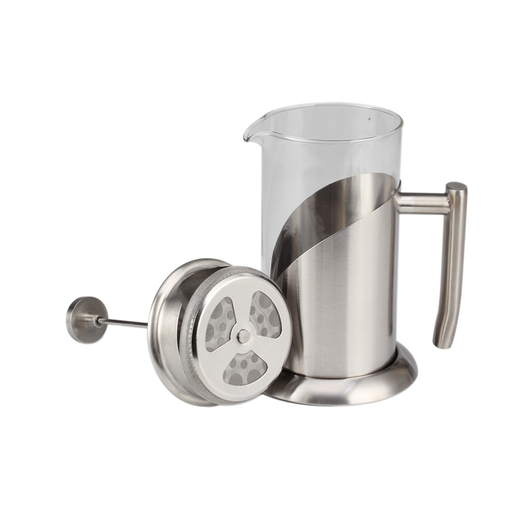 stainless steel frame coffee maker pot