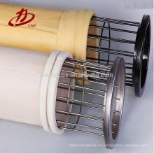 Bolsa de filtro industrial PPS para colector de polvo de chorro de pulso
