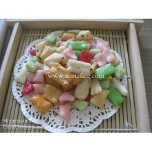 HACCP / ISO de alta calidad snacks galletas de arroz en coreano