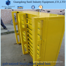 Heavy Duty Storage Container Steel Feet Pallet