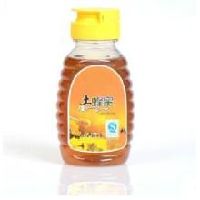 Pet Plastic Waben-Flasche mit Non-Drip Flip Cap (PPC-PHB-76)