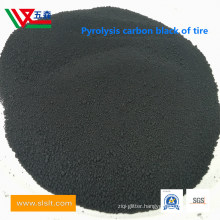 Pyrolytic Carbon Black and International Standard Carbon Black (20-80) % Are Grinded, Powder Carbon Black