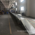 Console Motorcycle Assembly Slat Chain Conveyor
