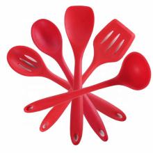 Ensemble de spatules en silicone pour accessoires de cuisine résistant à la chaleur
