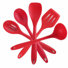 Heat resistant kitchen accessories silicone spatula set