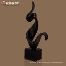 крытый украшения абстрактная скульптура смолаы для гостиницы бар декор