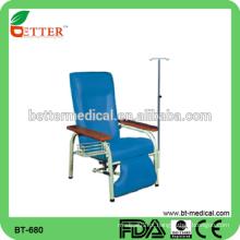 Hot sale cadeira de infusão de hospital médico ajustável de alta qualidade
