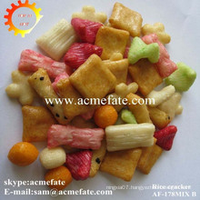 Korean mixed rice carcker Japanese rice cracker for kids
