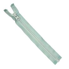 5 # plástico Zipper Open End cierre automático dientes blandos