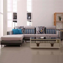 Configurable Couch Reversible Fabric Sectional Sofa