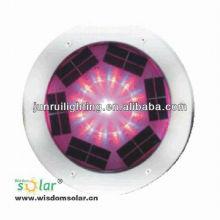 Hot nouvelle couleur RGB CE changement solaire LED lumière souterraine