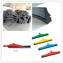 SGS EPDM Rubber Extrusion Window Wash Squeegee