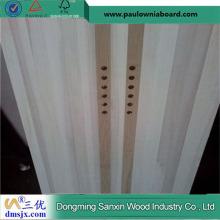 Тополевая доска Бамбук полосы Лыжная доска сердечника с отверстиями