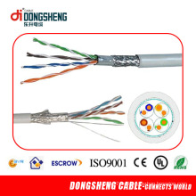 0.51mm 4pair Cable de red LAN de cobre SFTP Cat5e