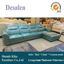 New Genuine Leather America Style Sofa (A55)