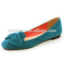 Хорошее качество площади пальца ноги моды женщин дамы плоские ботинки балерины