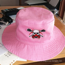 Мода рыбака Hat вышитые Beach Cap ведро Hat