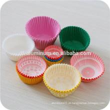 Copas de muffin de papel Papéis de cozinhas descartáveis