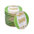 Acryl Poker Chips und Plaques Set
