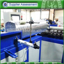 Double layer aluminum spiral duct machine