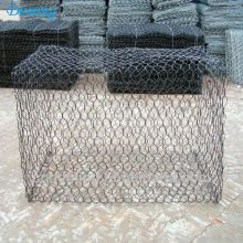 2.7mm Flood Walls Durable Hexagonal Galvanized Gabion