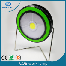 Rotatable LED COB Work Light With Metal Stand