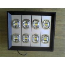 320W High Power LED Street Light avec COB Bridgelux Chip et Meanwell Driver étanche IP67
