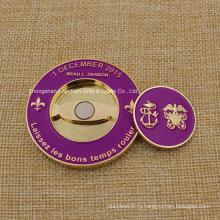 Мягкая эмаль для 3D-монеты