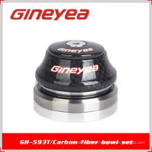 Auriculares de carbono Rodamientos Piezas de bicicleta Gineyea GH-593T