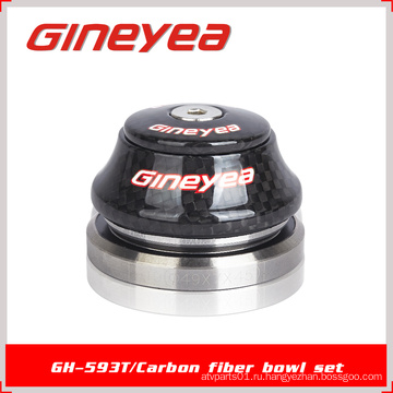 Углеродные гарнитуры Подшипники Запчасти для велосипедов Gineyea GH-593T